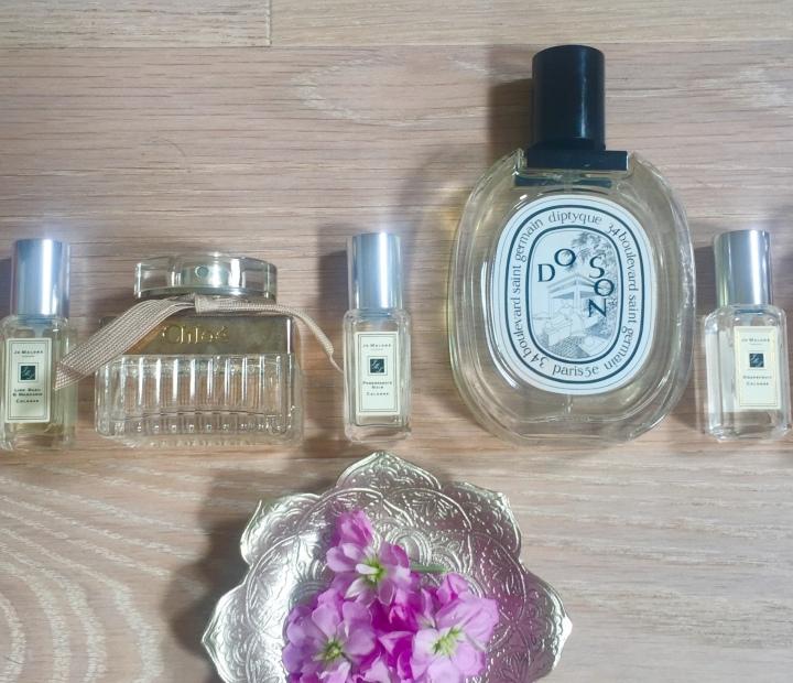 Pretty perfect perfumes…..