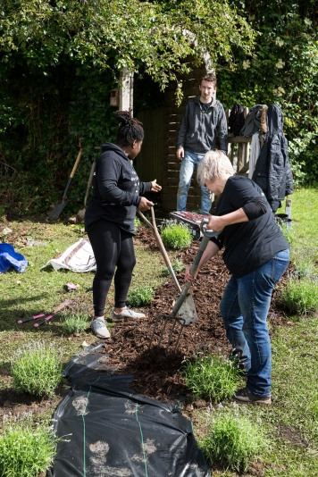 M&S volunteer day at Hartcliffe Nursery school in Bristol. June 2019. Photographer Freia Turland e:info@ftphotography.co.uk m:07875514528